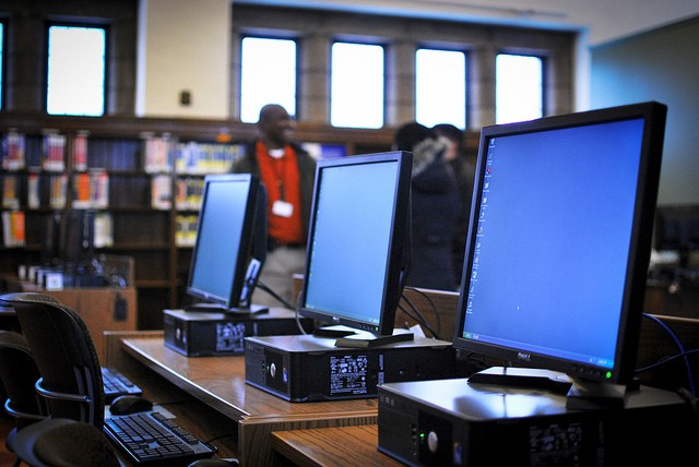 Grant-funded computers at Parkman Branch Library - KNIGHT FOUNDATION ON FLICKR
