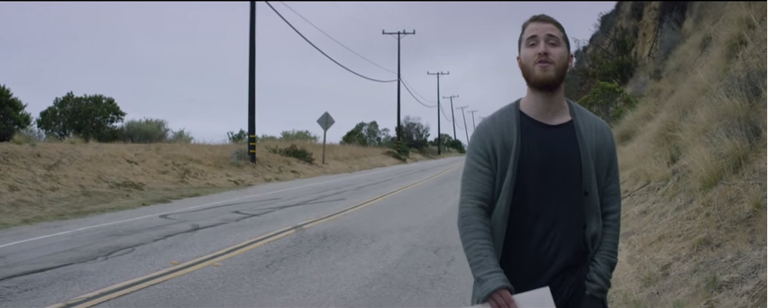 HIPSTER MIKE POSNER | YOUTUBE SCREENSHOT