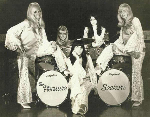 The Pleasure Seekers. - PHOTO COURTESY OF WIKIPEDIA.