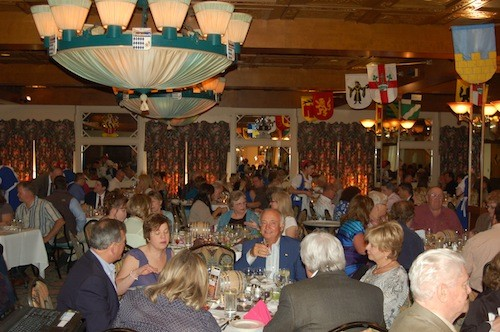Throngs throw back Michigan beverages in a throwback paradise: Bavarian Inn Restaurant. - PHOTO COURTESY LOGOS COMMUNICATIONS, INC.