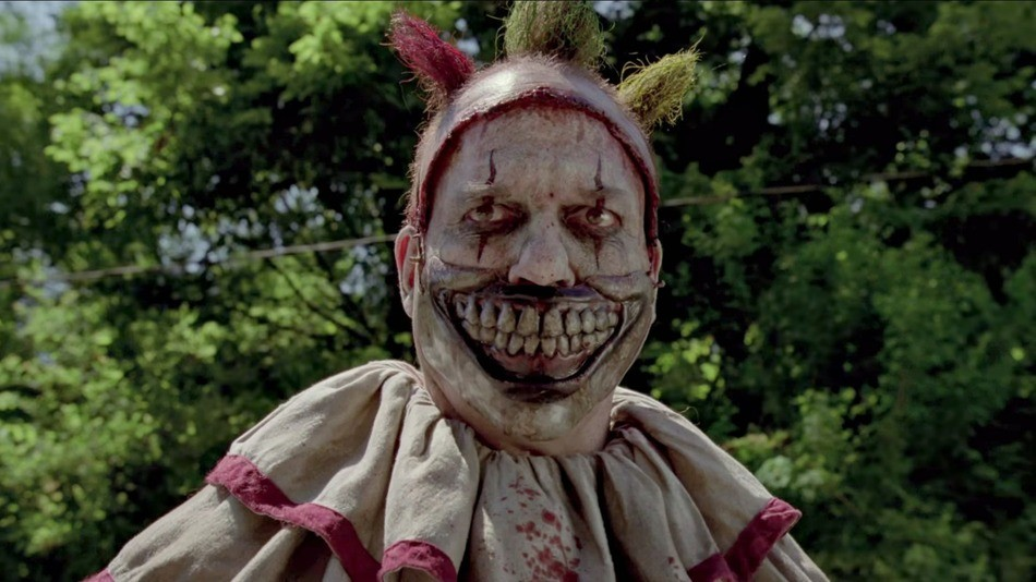 Twisty the Clown from the Freak Show season of American Horror Story.