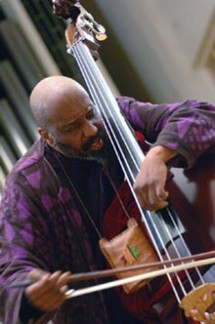 BASSIST/COMPOSER/ BAND LEADER WILLIAM PARKER. COURTESY PHOTO.