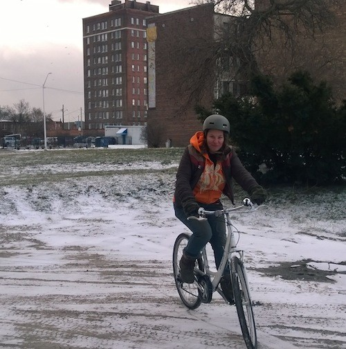 Biking in winter isn't as hard as you might have thought. - PHOTO COURTESY ZACH WAHID