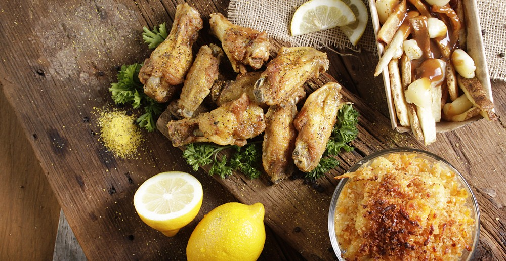 Lemon pepper wings from Detroit Wing Co. - COURTESY PHOTO.