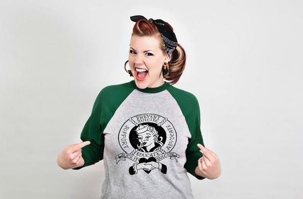 Six Feet Over founder Kate Hardy. - PHOTO COURTESY OF KATE HARDY