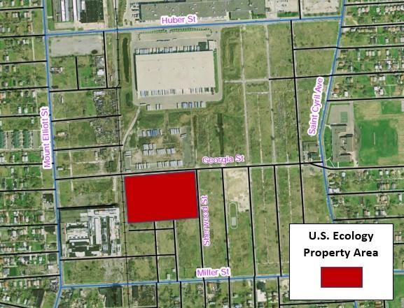 US Ecology property area. - EGLE