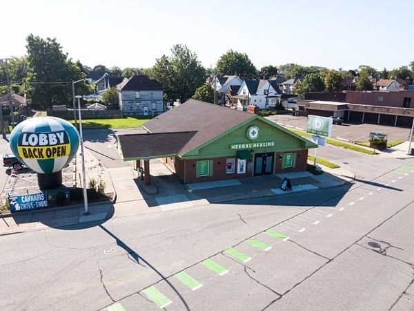 Herbal Healing cannabis dispensary in River Rouge. - COURTESY OF HERBAL HEALING