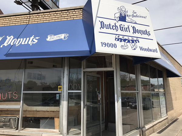 Dutch Girl Donuts is located at 19000 Woodward Ave. in Detroit. - STEVE NEAVLING
