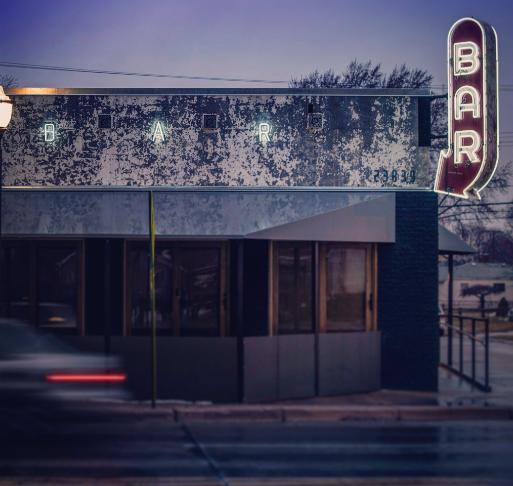 Joebar/Frame in downtown Hazel Park. - JOEBAR TWITTER