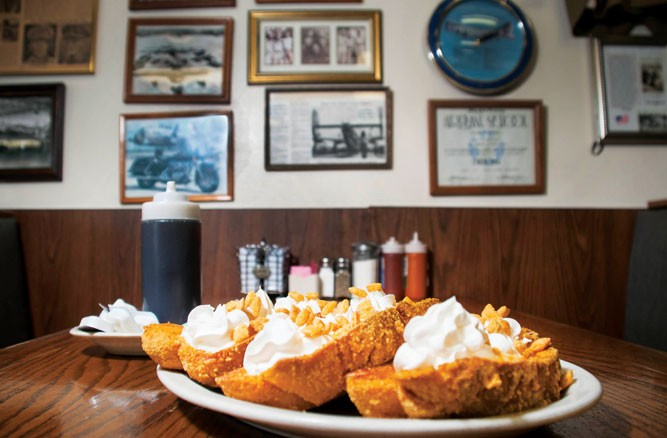 Cap'n Crunch French Toast from The Bomber. - TOM PERKINS