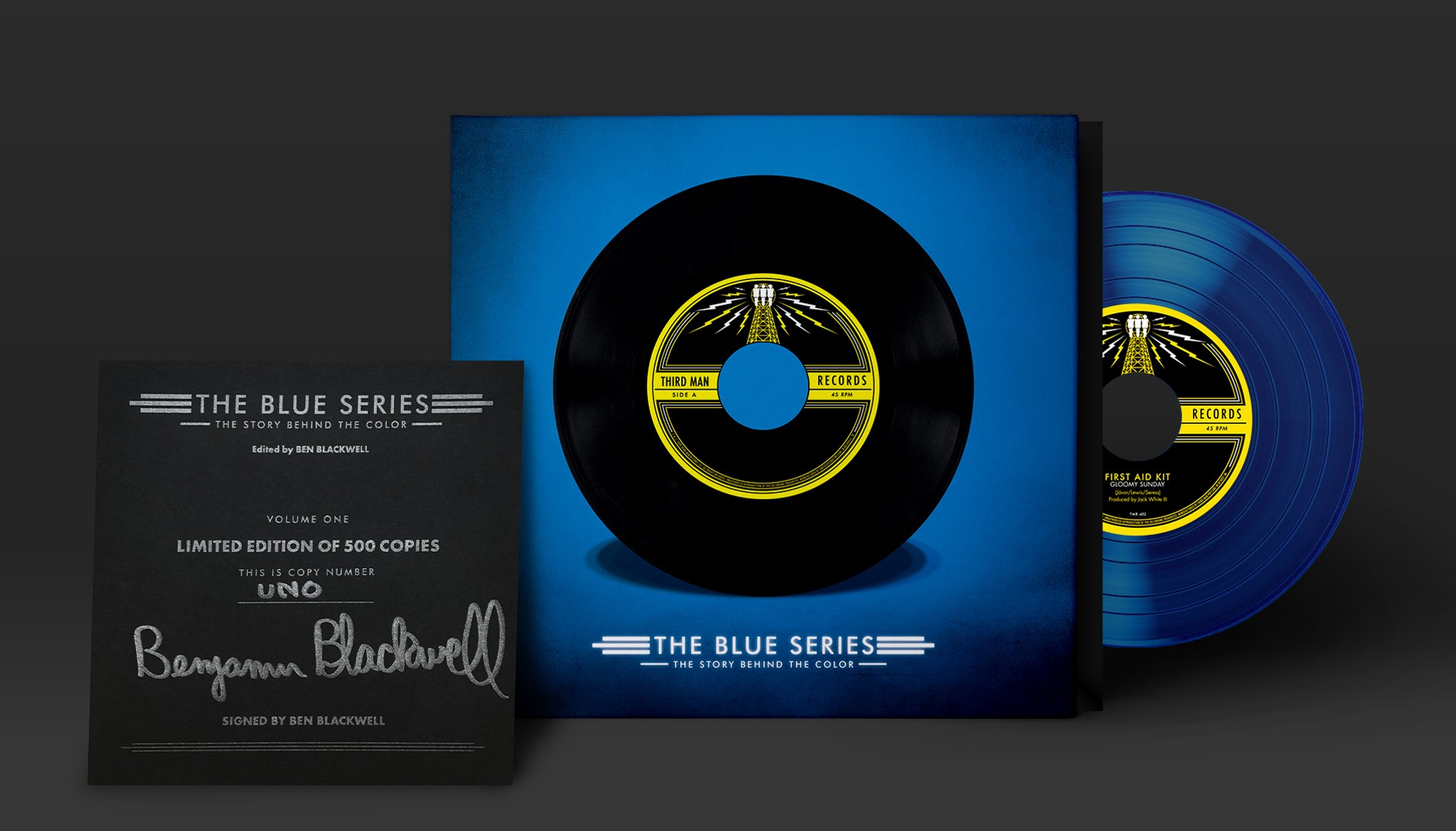 Blue Series\' book is for the Third Man records diehard | News Hits