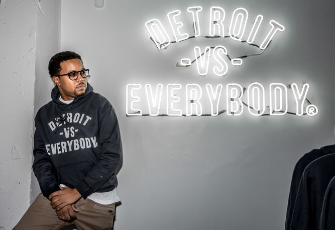 Tommey Walker of Detroit vs. Everybody - MARC NADER