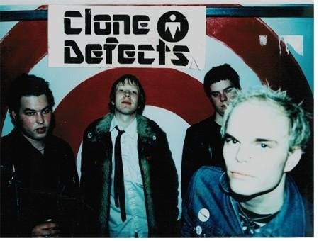 THE BAND IN 1998. PHOTO FROM CLONE DEFECTS FACEBOOK PAGE.