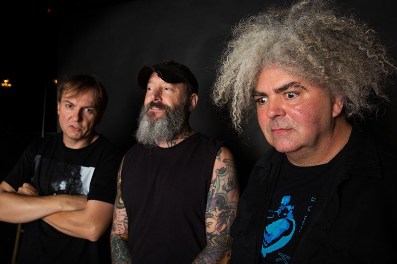MELVINS IN 2015. COURTESY PHOTO.