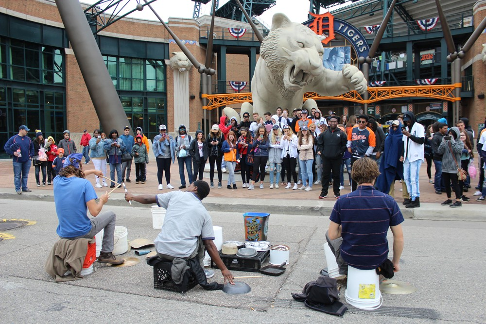 The street drummers who soundtrack downtown Detroit | Local