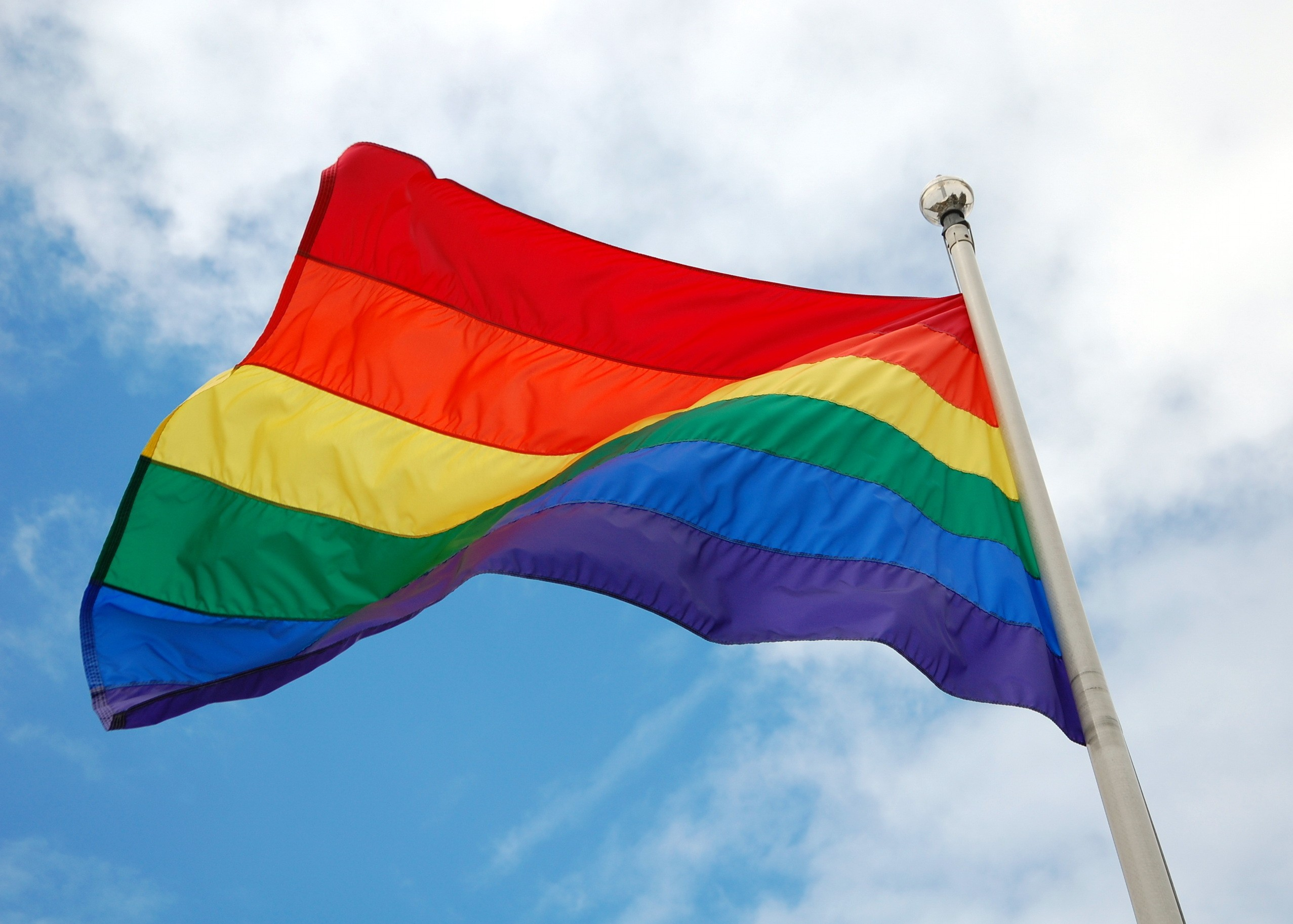 detroit officials are flying a rainbow flag in honor of