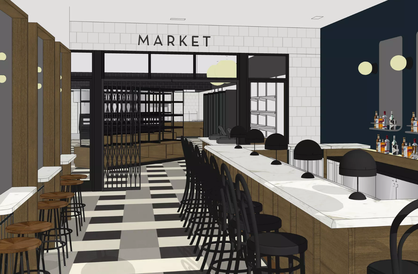 eatori specialty market/restaurant plans an august opening in