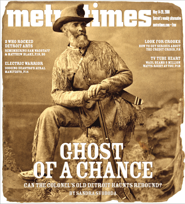METRO TIMES COVER FOR MAY 14, 2008
