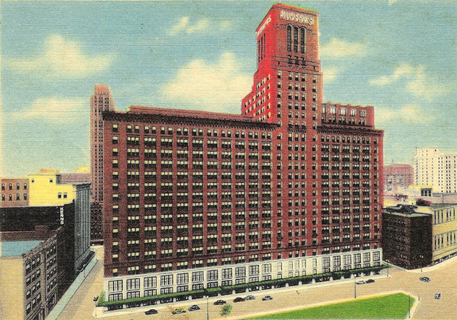 Image result for hudson's department store detroit photo