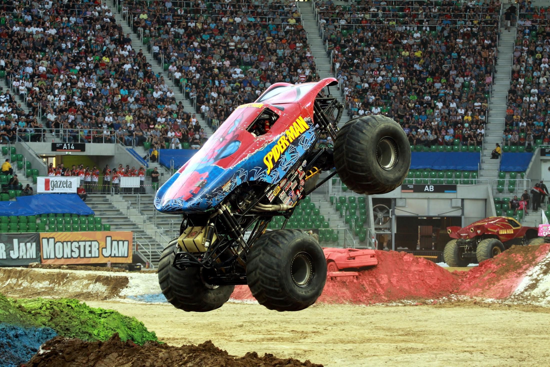 monster jam will rev engines and break stuff at ford field. Black Bedroom Furniture Sets. Home Design Ideas