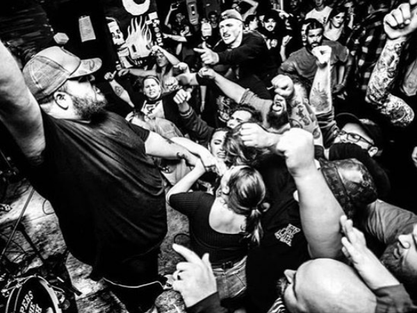 Bent Life performing at the final show at old Sanctuary Detroit location in 2017. - PHOTO VIA INSTAGRAM, @SANCTUARYDETROIT.