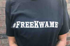 #FreeKwame tee shirts help raise money for the imprisoned ex-mayor's legal defense fund.