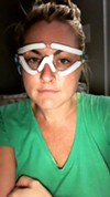 """Lasik SMILE went well! Still foggy vision but I can SEE!"" reads Jessica Starr's caption posted on Oct. 12."