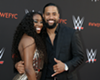 Jimmy Uso and wife Naomi.