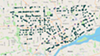 Project Green Light locations in Detroit.