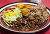 Brown Stew Chicken from Jamaican Pot.