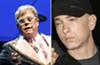 No, Elton John and his husband haven't used Eminem's intimate wedding gift... yet