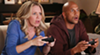 """Jessica St. Clair and Keegan-Michael Key from """"Playing House."""""""
