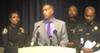 Detroit Police chief James Craig addresses reporters.
