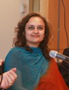 Bhairavi Desai, president of the National Taxi Workers Alliance taken on October 20, 2011.