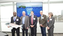 Snyder held a 'Carp Tank' contest to find ways to fight Asian carp