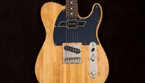 Local guitar maker teams with Chevy trucks on reclaimed maple six strings