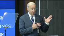 Former vice president Joe Biden refers to Detroit women as being from the 'hood'