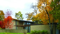 Catch a concert in the garden at this amazing Minoru Yamasaki home in Palmer Woods