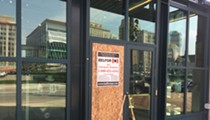 Man takes sledgehammer to Comerica Park, shattering windows and doors