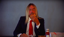Anyway, here's a video of Iggy Pop eating a hamburger