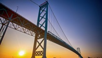 Commuters crossing the Ambassador Bridge will pay less starting today