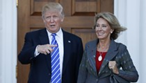 Betsy DeVos defends Trump's plans to cut funding for Special Olympics