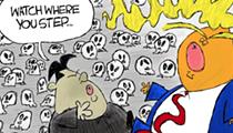 Comics: Sleaze at the DMZ