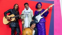 The badasses of Les Filles de Illighadad will push the limits of traditional Tuareg music at Detroit's Trinosophes