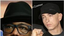No, Eminem did not murder Nick Cannon in Detroit