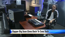 Big Sean helped donate a recording studio to Cass Tech
