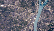Photo of the Day: Detroit from space