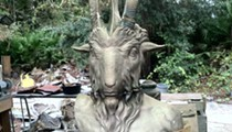 How a homeless Satanic monument wound up in Detroit