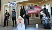 The Satanic Temple countered Planned Parenthood protests with some guerrilla theatre