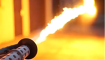 A company in Troy is selling flamethrowers for personal use and it's totally legal — for now